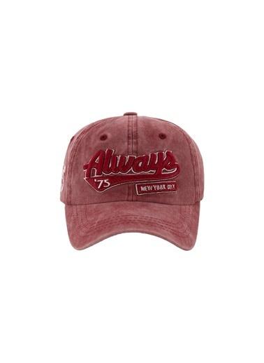 Laslusa Always Beyzbol Cap Şapka Bordo